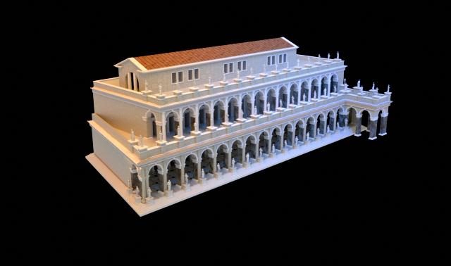 Foro Romano Basilica Aemilia