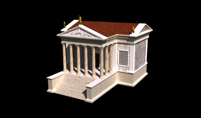 Foro Romano - Tempio della Concordia